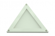 LED-Minipanel 100 Lumen Gleichstrom 12-14V DC warmweiss