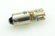 BA9S LED-Bajonettsockellampe 22 Lumen Gleichstrom 10-30V DC Rot 0,6W