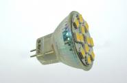 GU4 LED-Stiftsockellampe 210 Lumen Gleichstrom 10-30V DC warmweiss 2,3W