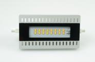 R7S LED-Stablampe 1000 Lumen Gleichstrom 80-230V DC neutralweiss 10W