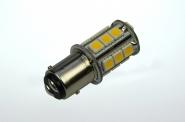 BAY15D LED-Stiftsockellampe 210 Lumen Gleichstrom 10-30V DC warmweiss 2,4W