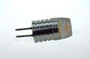 G4 LED-Stiftsockellampe 32 Lumen Gleichstrom 12V DC warmweiss 0,6W