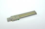 G23 LED-Kompaktlampe 450 Lumen Gleichstrom 200-240V DC warmweiss 6W