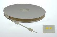 LED-Chipmodul 2 x60 Lumen Gleichstrom 24V DC warmweiss