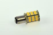 BA15D LED-Bajonettsockellampe 300 Lumen Gleichstrom 10-30V DC warmweiss 3,2W