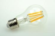 E27 LED-Globe LB60 540 Lumen Gleichstrom 185-230V DC warmweiss 6W
