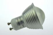 GU10 LED-Spot PAR16 300 Lumen Gleichstrom 230V DC kaltweiss 3,8W