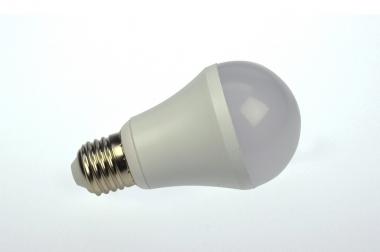 E27 LED-Globe LB60 610 Lumen Gleichstrom 120-230V DC warmweiss 8W