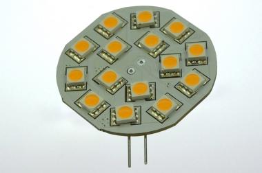 G4 LED-Modul 250 Lumen Gleichstrom 10-30V DC warmweiss 2,6W