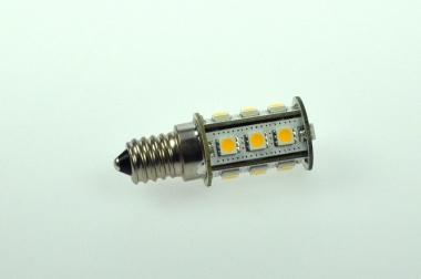 E14 LED-Tubular 252 Lumen Gleichstrom 10-30V DC warmweiss 2,3W