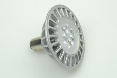 BA15D LED-Bajonettsockellampe AR70 500 Lumen Gleichstrom 10-30V DC warmweiss 7W