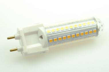 G12 LED-Stiftsockellampe 1000 Lumen Gleichstrom 85-240V DC kaltweiss 10 W