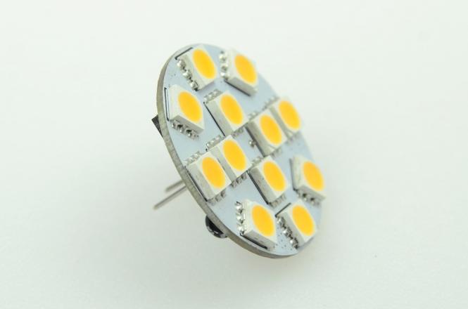 GZ4 LED-Modul 180 Lumen Gleichstrom 10-30V DC warmweiss 2W