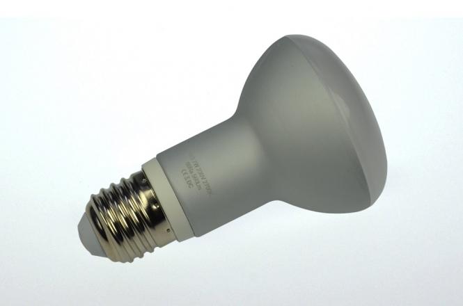 E27 LED-Reflektorlampe 520 Lumen Gleichstrom 80-230V DC warmweiss 7W