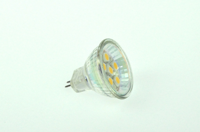 GU4 LED-Spot MR11 100 Lumen Gleichstrom 10-30V DC warmweiss 1W