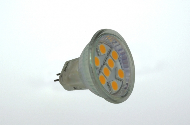 GU4 LED-Spot MR11 125 Lumen Gleichstrom 10-30V DC warmweiss 1,3 W