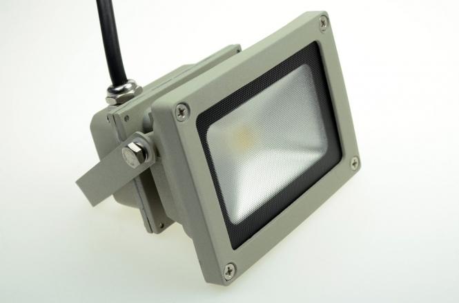 LED-Flutlichtstrahler 800 Lumen Gleichstrom 100-240V DC kaltweiss