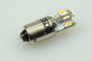 BA9S LED-Bajonettsockellampe 70 Lumen Gleichstrom 10-30V DC kaltweiss 0,6W