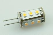 G4 LED-Stiftsockellampe 90 Lumen Gleichstrom 10-30V DC warmweiss 0,8W