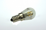 E14 LED-Miniglobe 60 Lumen Gleichstrom 10-30V DC warmweiss 0,7W