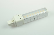 G24-D1 LED-Kompaktlampe 540 Lumen Gleichstrom 200-240V DC  warmweiss 8W