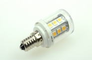 E14 LED-Tubular 300 Lumen Gleichstrom 13,5-28V DC warmweiss 2,6W
