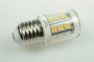 E27 LED-Stiftsockellampe 290 Lumen Gleichstrom 10-30V DC warmweiss 2,6W