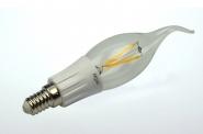 E14 LED-Kerze 280 Lumen Gleichstrom 180-230V DC warmweiss 3,3W