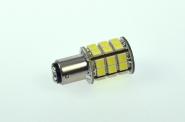 BA15D LED-Bajonettsockellampe 320 Lumen Gleichstrom 10-30V DC kaltweiss 3,2W