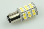 BAY15D LED-Bajonettsockellampe 320 Lumen Gleichstrom 10-30V DC kaltweiss 3,2W