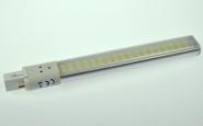 G23 LED-Kompaktlampe 600 Lumen Gleichstrom 200-240V DC neutralweiss 8W