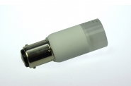 BA15D LED-Bajonettsockellampe 140 Lumen Gleichstrom 10-30V DC warmweiss 2W