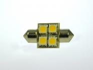 S8x31 LED-Soffitte 55 Lumen Gleichstrom 10-30V DC warmweiss 0,7W