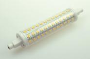 R7S LED-Stablampe 900 Lumen Gleichstrom 85-230V DC warmweiss 10 W