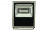 LED-Flutlichtstrahler 7900 Lumen Gleichstrom 120-230V DC warmweiss 100W flache Bauweise