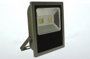 LED-Flutlichtstrahler 8500 Lumen Gleichstrom 120-230V DC kaltweiss 100W flache Bauweise