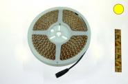 LED-Lichtband 600 Lumen Gleichstrom 12V DC warmweiss 45W 120 Dioden/m