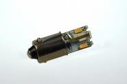 BA9S LED-Bajonettsockellampe 65 Lumen Gleichstrom 10-30V DC warmweiss 0,6W