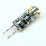 G4 LED-Stiftsockellampe 65 Lumen Gleichstrom 10-30V DC warmweiss 0,6W