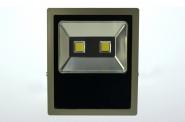 LED-Flutlichtstrahler 11020 Lumen Gleichstrom 120-230V DC warmweiss 150W flache Bauweise