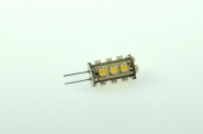 G4 LED-Stiftsockellampe 82 Lumen Gleichstrom 10-30V DC warmweiss 1W