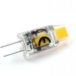G4 LED-Stiftsockellampe 90 Lumen Gleichstrom 10-30V DC warmweiss 1 W