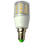 E14 LED-Tubular 330 Lumen Gleichstrom 10-30V DC warmweiss 4W