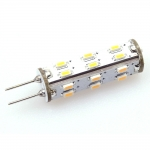 G4 LED-Stiftsockellampe 146 Lumen Gleichstrom 10-30V DC warmweiss 1,3W