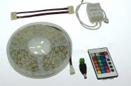 LED-Lichtband 160 Lumen Gleichstrom 12V DC RGB 36W dimmbar