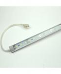 LED-Aquariumleuchte 540 Lumen Gleichstrom 12V DC kaltweiss 9W gg. Algenwachstum