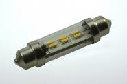 S8x42 LED-Soffitte 45 Lumen Gleichstrom 10-30V DC warmweiss 0,8W