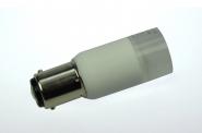 BAY15D LED-Bajonettsockellampe 140 Lumen Gleichstrom 10-30V DC warmweiss 2W