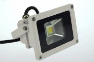 LED-Flutlichtstrahler 600 Lumen Gleichstrom 120-230V DC warmweiss 12W