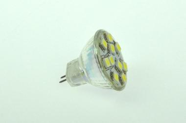 GU4 LED-Spot MR11 180 Lumen Gleichstrom 10-30V DC kaltweiss 1,7W